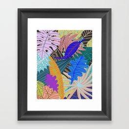 Lush Leaves 2 Framed Art Print