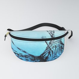 The deep blue Fanny Pack