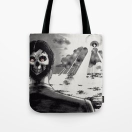 Two Faced Dawn Tote Bag