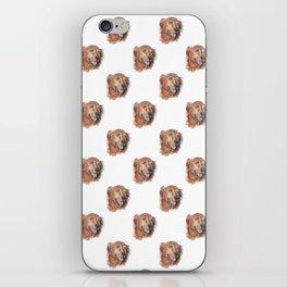 Golden Retriever Love iPhone Skin