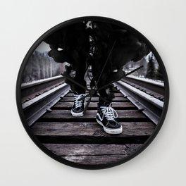 Dark Smoke Wall Clock