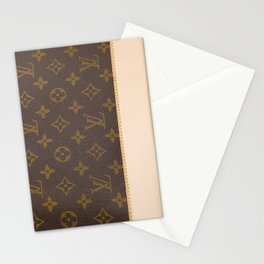 LV style Louis Stationery Cards