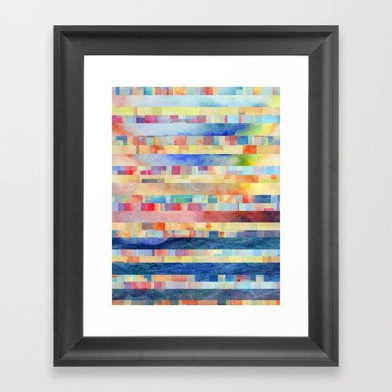 Amalgamate (sp) Framed Art Print