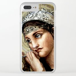 Ethereal Dream Clear iPhone Case