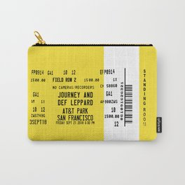 Concert Ticket Stub - Journey at AT&T Park Carry-All Pouch