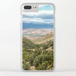 Geiger Lookout Wayside Park, Nevada Clear iPhone Case