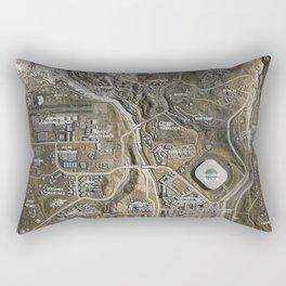 COD Warzone Map Season 4 Rectangular Pillow