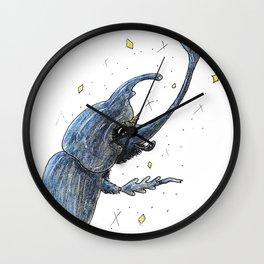Lady Beetle Wall Clock