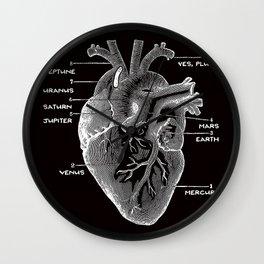 Solar Vascular System Wall Clock