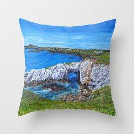 Gromllech Rock Arch Throw Pillow