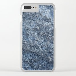 Textura: Frozen Dew Clear iPhone Case