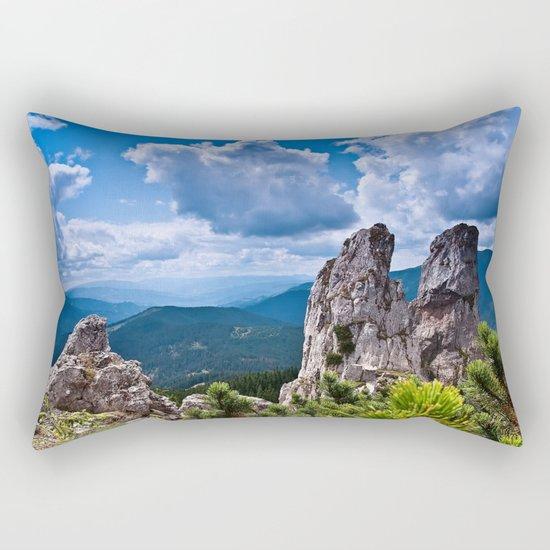 Nature love #landscape Rectangular Pillow