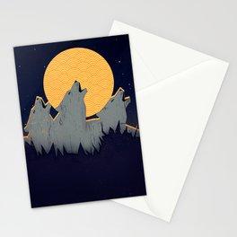 Midnight Sound Stationery Cards