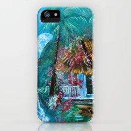 Hawaiian Hut Flip Flops iPhone Case