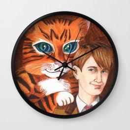 When Kitten Grew Up Wall Clock