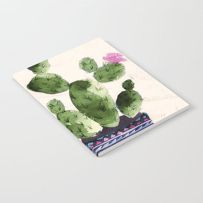 Blooming Cactus Notebook