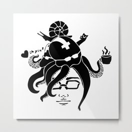 Oh you! Metal Print