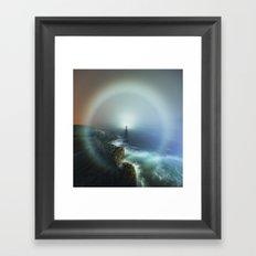 Surrounding Fog Framed Art Print