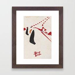Speed Racer Framed Art Print
