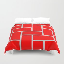 brick pattern Duvet Cover