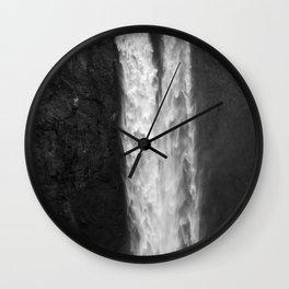 Shooting Falls Wall Clock