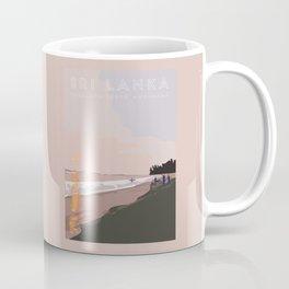 Ahangama, Sri Lanka Travel Poster Coffee Mug
