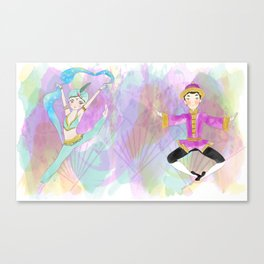 The nutcracker collection Canvas Print