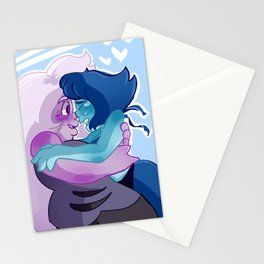 lapithyst amethyst lapis su steven universe Stationery Cards