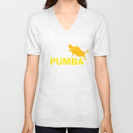 Lion King Pumba Unisex V-Neck