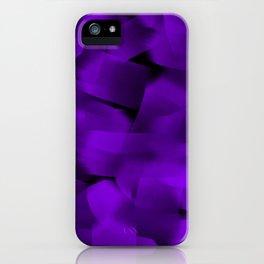 Translucent Stripes of Purple Ribbon iPhone Case