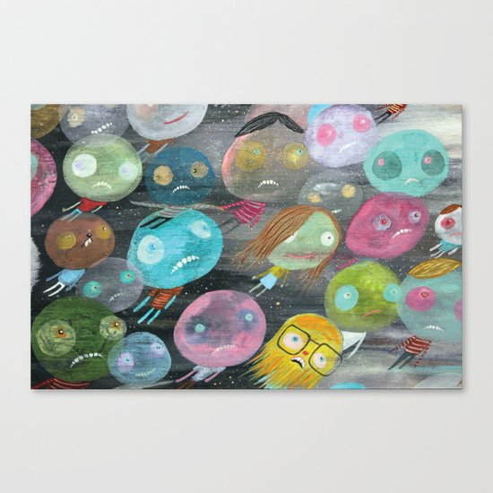 Spirits Canvas Print