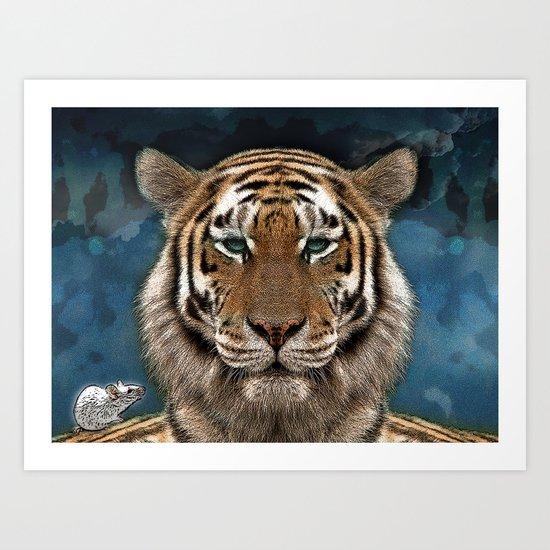 Sumatra and tiny Art Print
