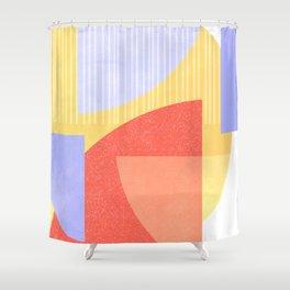 Geometric Shape Study Shower Curtain