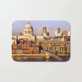 London In Art Bath Mat