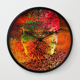 """"""" The beauty is the magnificence of the divine face. """" Wall Clock"""