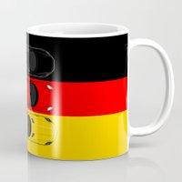 german Mugs featuring German Horsepower by Blayde