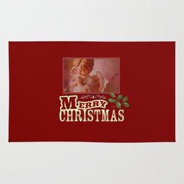 Christmas Angel Rug