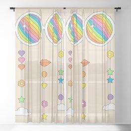 Stardust Shades Sheer Curtain