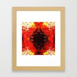 Broken feelings. Framed Art Print
