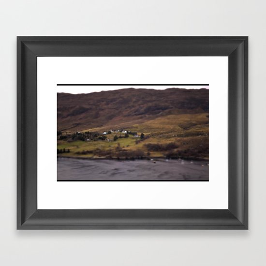 New Years Day, one year in Ullapool. Framed Art Print
