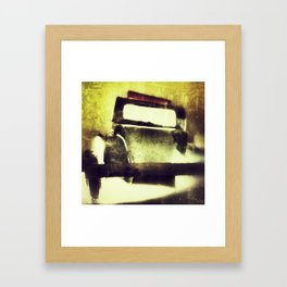 A frenchcar named deudeuche Framed Art Print