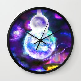A New Heaven and Earth Wall Clock