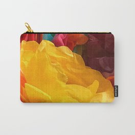 Fun Fiesta Flowers Carry-All Pouch