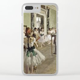 Edgar Degas - The Ballet Class Clear iPhone Case