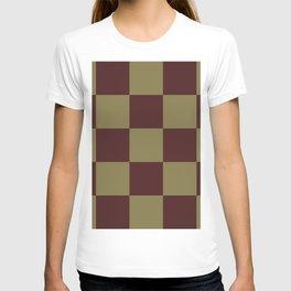 Classic Checked Pattern Longana T-shirt