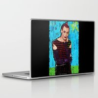 danny haas Laptop & iPad Skins featuring Danny Hennesy by brett66