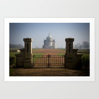 the national Art Prints featuring Necropole National by davehare