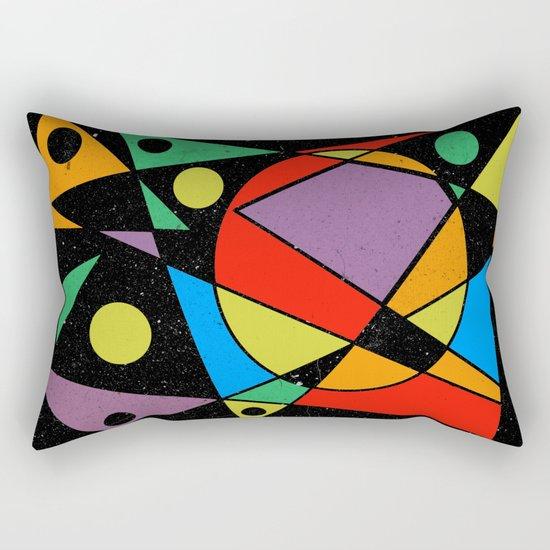 Abstract #130 Rectangular Pillow