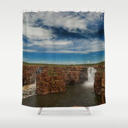 King George Waterfall Shower Curtain