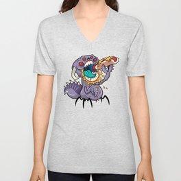 Om Nom Alien Bug Unisex V-Neck